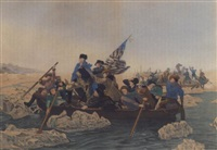 washington crossing the delaware by thomas reilly