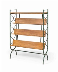 bookcase by jacques adnet