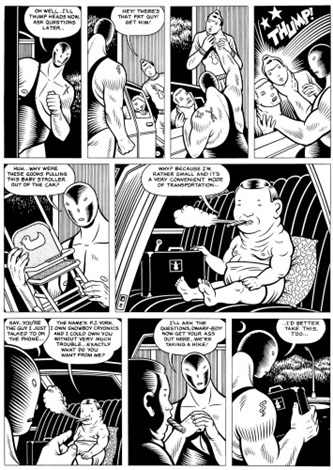 el borbah planche 8 by charles burns