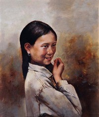 少女 by liu wen