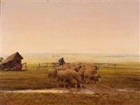 heimtrieb der schafe by leonore (leo) hiller-baumann