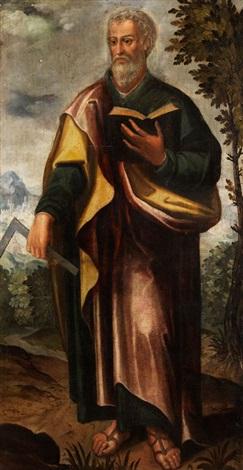 bild des heiligen apostels thomas by anonymous italian 17