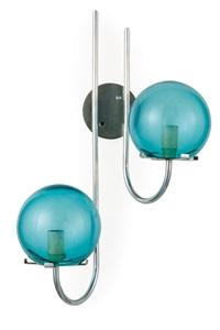 tre lampade da parete mod.no.245 by gino sarfatti