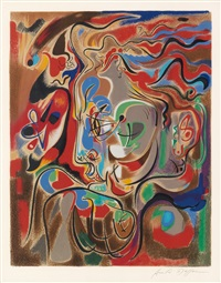 untitled by andré masson