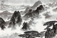 mount huang by song wenzhi