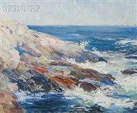 maine coast in summer by frances isabel neill