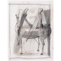 cavallo e cavaliere by marino marini