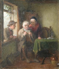 the emigrant's letter by thomas webster