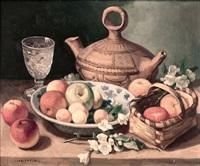 bodegón con frutas y flores by juan antonio rodriguez hernandez