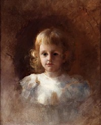 niño con rizos de blanco by francisco peralta del campo