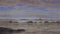 a seascape by cathcart william methven