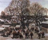 marché aux puces by vosskrensky alex smirnov