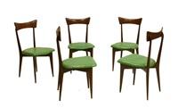 cinque sedie by ico parisi