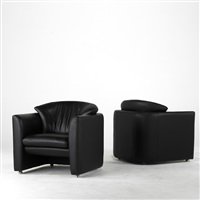club chairs (pair) by leolux