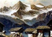 tiroler bergdorf by alois pfund