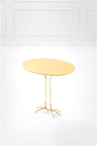 Meret Oppenheim Tavolino.Tavolino Mod Traccia By Meret Oppenheim On Artnet