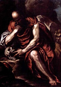 saint jerome by leonardo corona