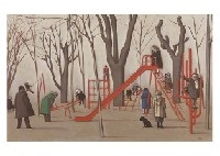 at madrid litero park, winter by masayoshi aigasa