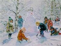 the snowman by vladimir gusev