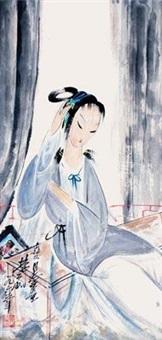 簪花入云鬓 by lin fengmian