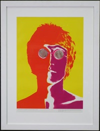 the beatles 1967 (set of 4 works) by richard avedon