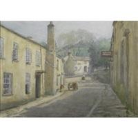 town scene dulverton england by lee lufkin kaula