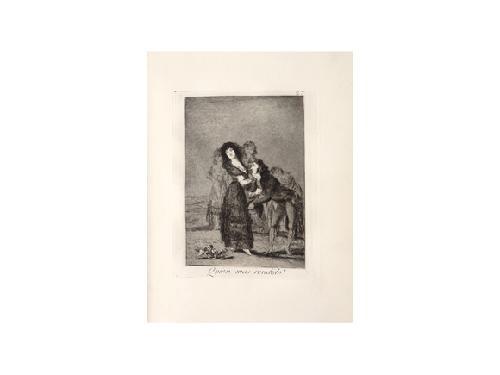 los caprichos (80 works) by francisco de goya