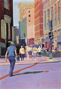 tremont street, boston by nick paciorek