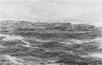the western ocean - star of india by henri louis scott