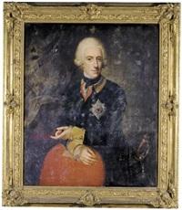portrait of duke wilhelm adolph of brunswick-wolfenbüttel by anna rosina lisiewski