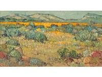 spring landscape by piet (pieter gerhardus) van heerden