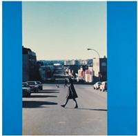 sans titre (crossing the street ii) by ian wallace