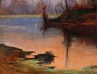 paesaggio lacustre by metello merlo
