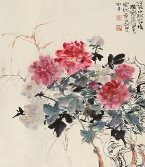 龙华牡丹 peony by cheng shifa
