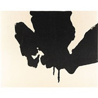 untitled from the octavio paz suite by robert motherwell