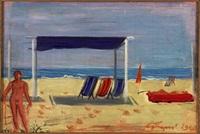 spiaggia by achille funi