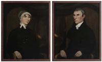 half portraits (pair) by ralph eleaser whiteside earl