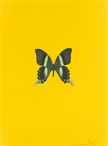 new beginnings untitled 3 by damien hirst