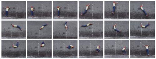 street gym in 18 parts by robin rhode