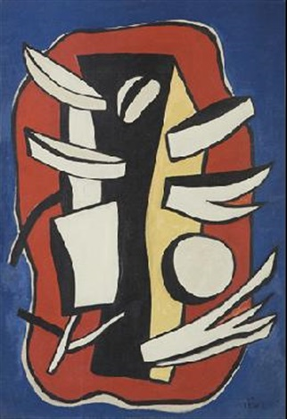 composition monumentale by fernand léger