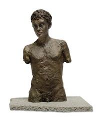 männlicher torso by stephan balkenhol