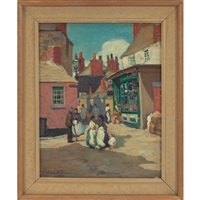 street scene by dixie selden