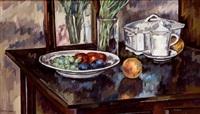 plato con frutas by antonio santos