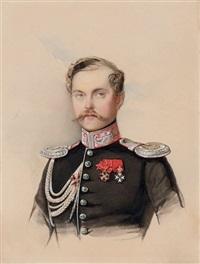 portrait of count nikolai vladimirovich adlerberg by vladimir ivanovich hau