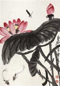 荷塘春色 by qi liangmo