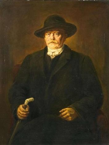 porträt otto fürst bismarck by franz seraph von lenbach