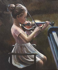 the young violinist by sherree valentine daines