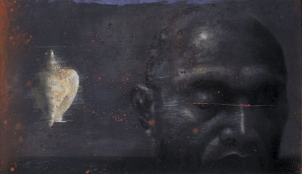 man and shell by ahmad zakii anwar