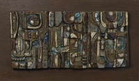 ceramic plaque by rosemary zwick