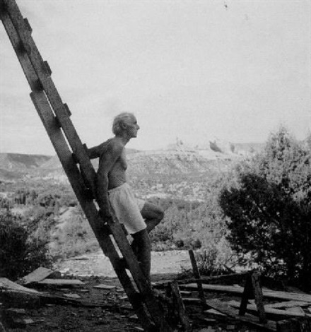 max ernst in sedona, arizona by lee miller